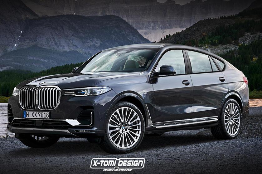 BMW X8 M, ilk kez patent başvurusunda ortaya çıktı