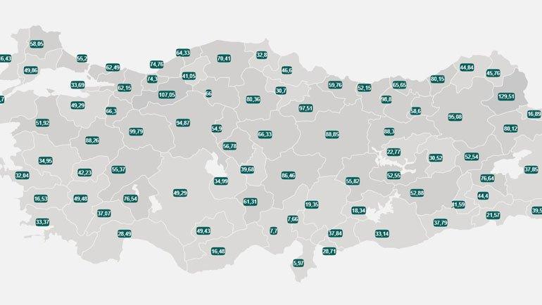 5-11 Haziran Türkiye COVID-19 Haritası: İşte Vaka Sayısı En Çok Düşen 5 İl