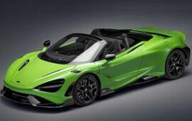 McLaren 765LT Spider Tanıtıldı: İşte Özellikleri