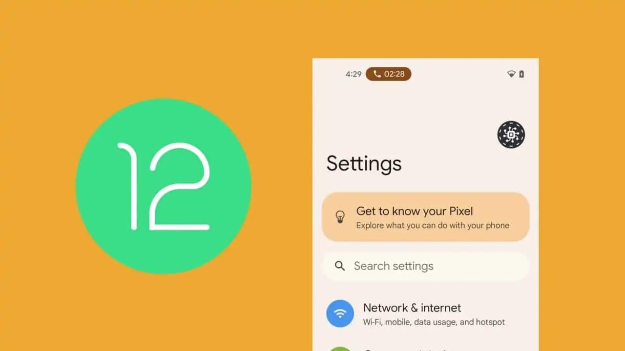 Android 12 yakında geliyor!