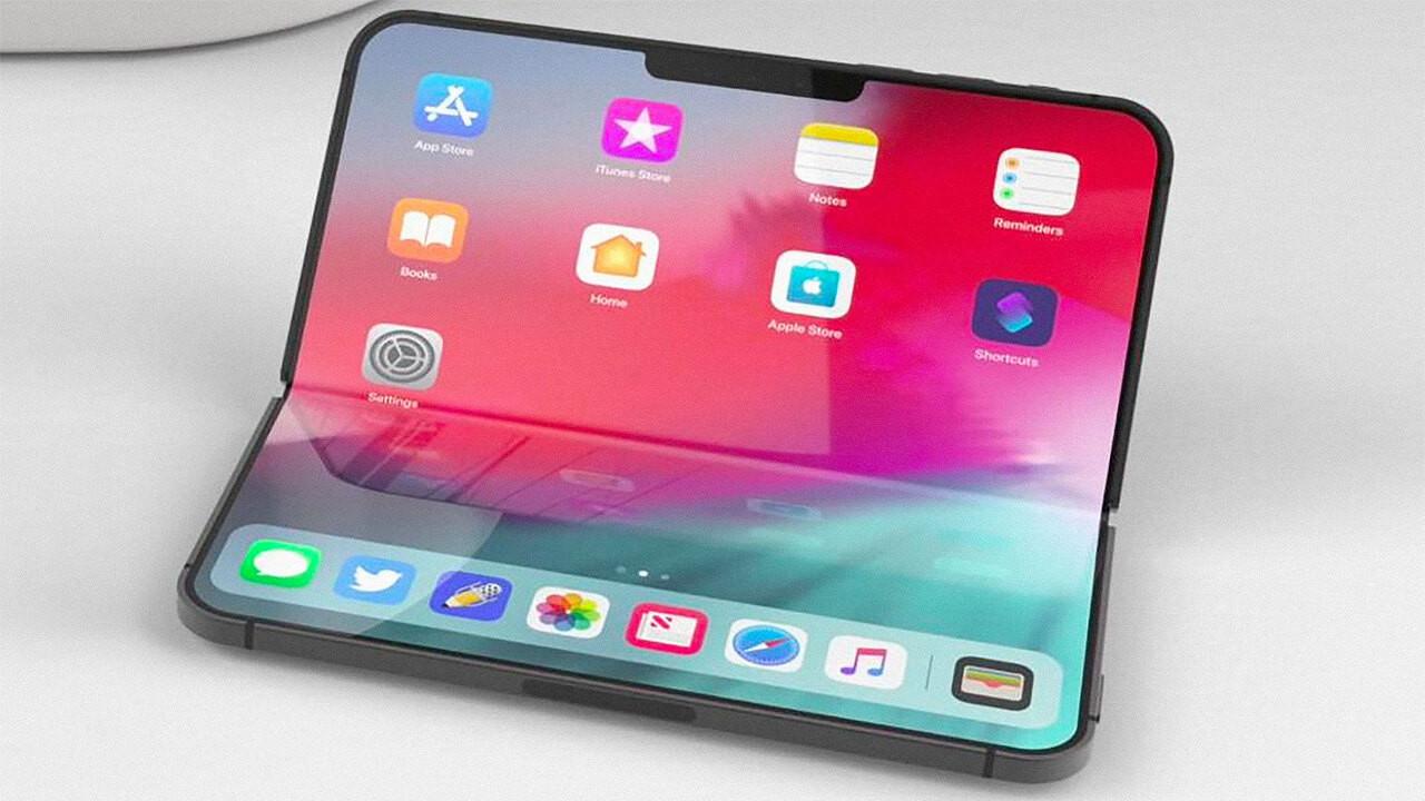 İşte Apple'ın katlanabilir İphone'u!