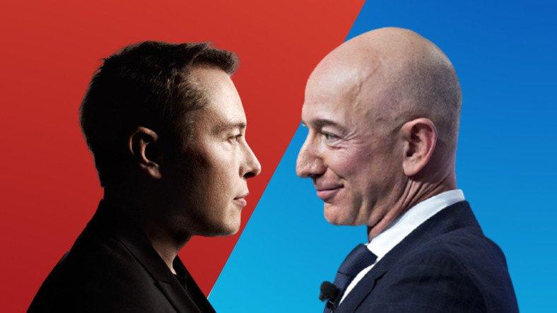 Elon Musk, Jeff Bezos'u Trolledi