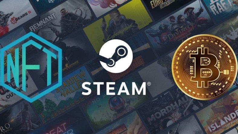 Steam Kripto Para ve NFT'yi Yasakladı